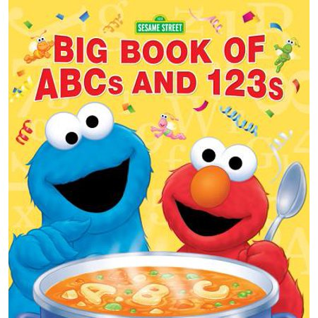 Sesame Street Big Book of ABCs and 123s