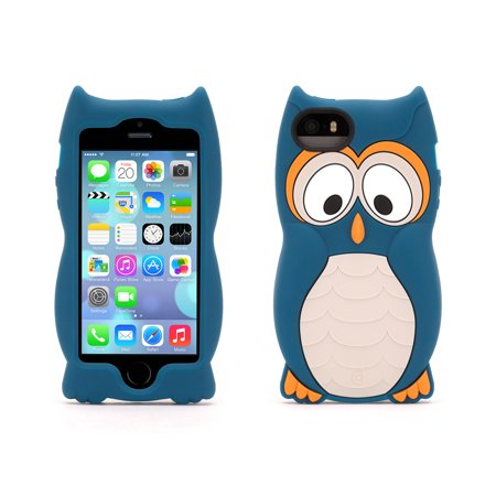 Love Protective Case (Griffin KaZoo Protective Animal Case for iPhone 5/5s, iPhone SE, Everyone loves going to the zoo)