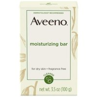 6 Pack - AVEENO Naturals Moisturizing Bar for Dry Skin 3.50 oz