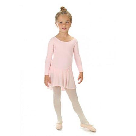 e3e2871f0 Elowel Pajamas - Elowel Girls  Ruffle Long Sleeve Skirted Leotard ...
