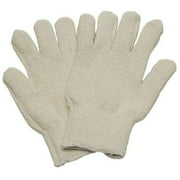 Condor 3AT17 Men's L White Polyester/Cotton Heat Resistant Gloves