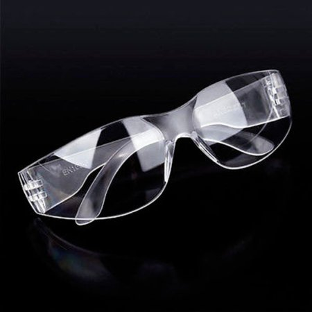 Clear Riding Glasses Transparent Lens Bicycle Eye Bug UV Protection Night