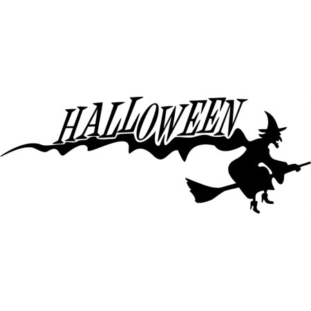 Do It Yourself Wall Decal Sticker Halloween And Witch Kids Girls Bedroom - Do It Yourself Halloween