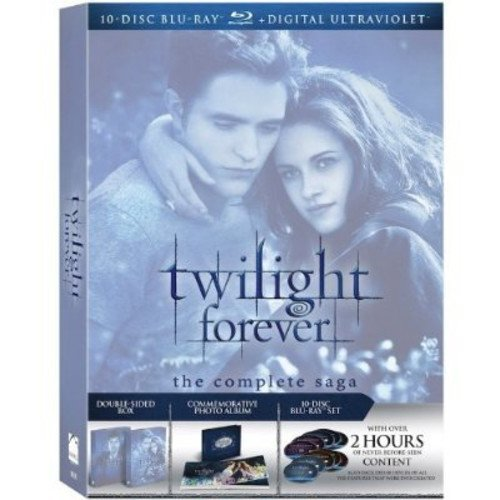 Twilight Forever: The Complete Saga - Twilight / New Moon / Eclipse / Breaking Dawn - Parts One And Two (Blu-ray) (With INSTAWATCH)
