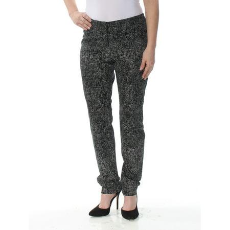 ALFANI Womens Black Bi Stretch Black Hollywood Skinny Pants  Size: 4