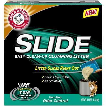 Arm Hammer Slide Cat Litter Walmart