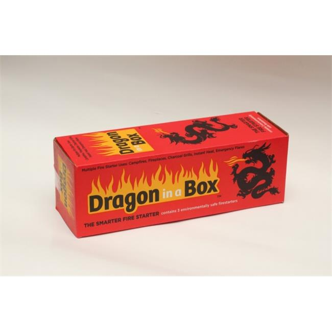 The Buh Hines Group DIAB36 Dragon in a Box Fire Starter by The Buh Hines Group
