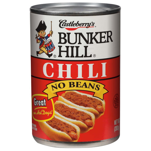 (6 Pack) Bunker Hill Chili No Beans, 10 Oz