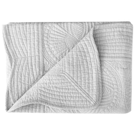 Lightweight All Weather Embossed Detail Cotton Quilt For Babies and (Bay Quilt)