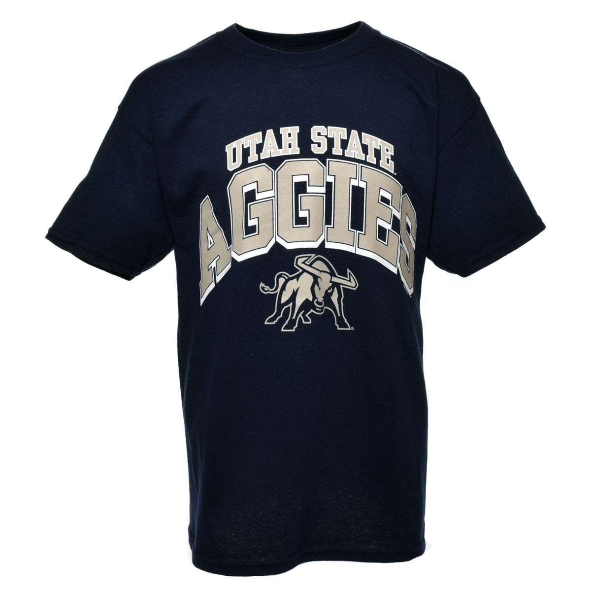 Utah State Aggies NCAA Youth Arch T-Shirt (Navy)