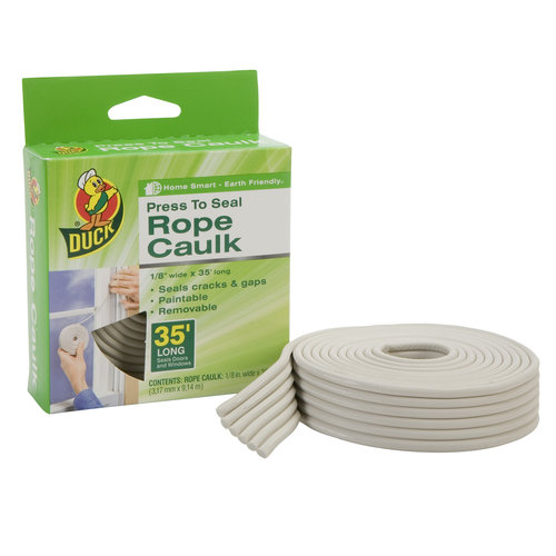 Duck Brand Rope Caulk, 35' White