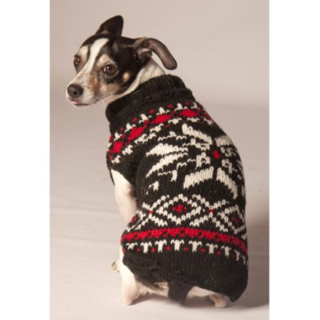 Chilly Dog Snowflake Dog Sweater - - Halloween Chili Dogs