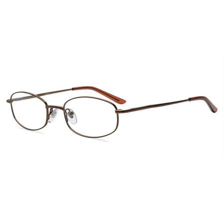 Contour Womens Prescription Glasses, FM6011 Matt Brown