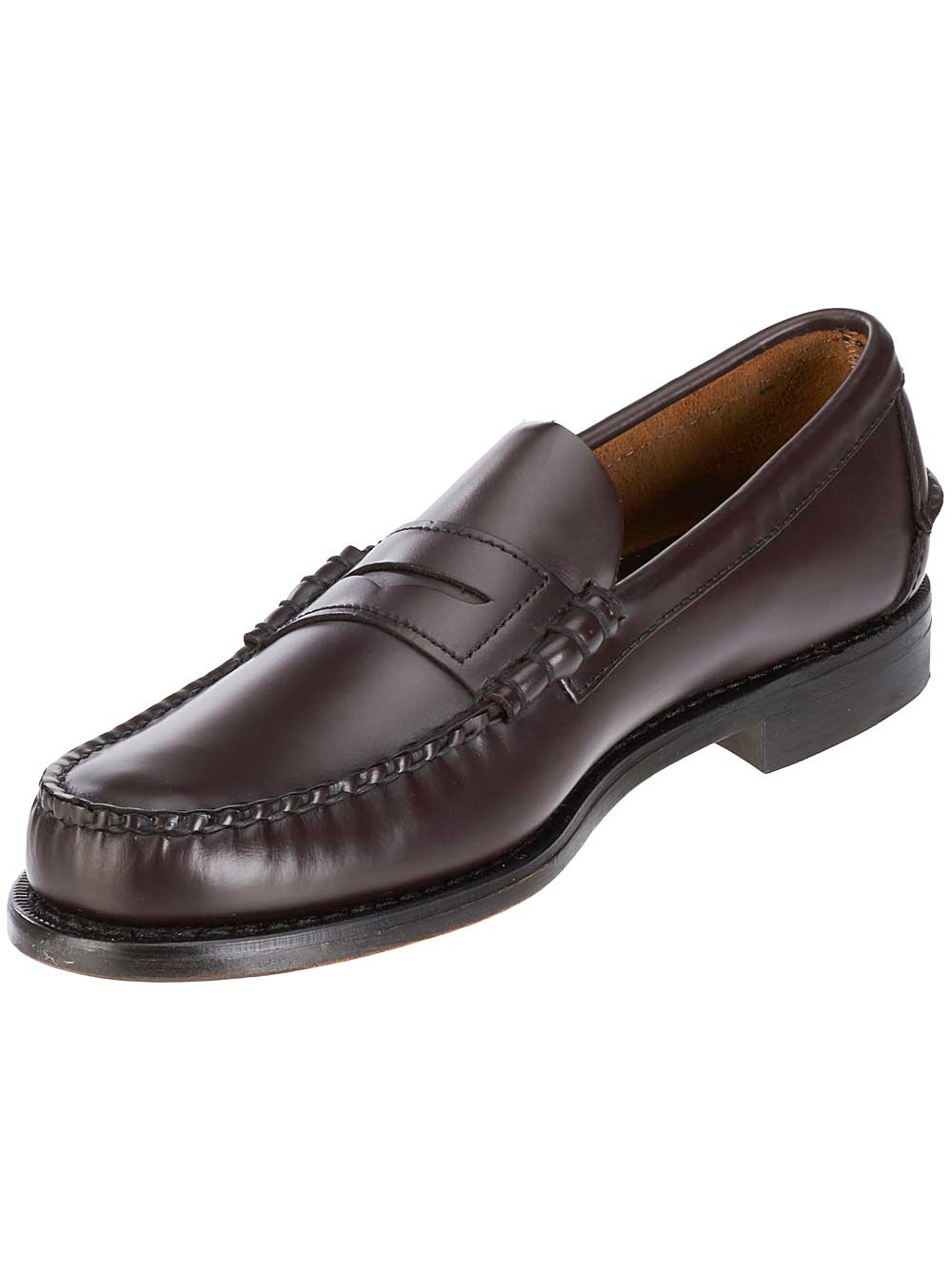 classic leather penny loafers shoes