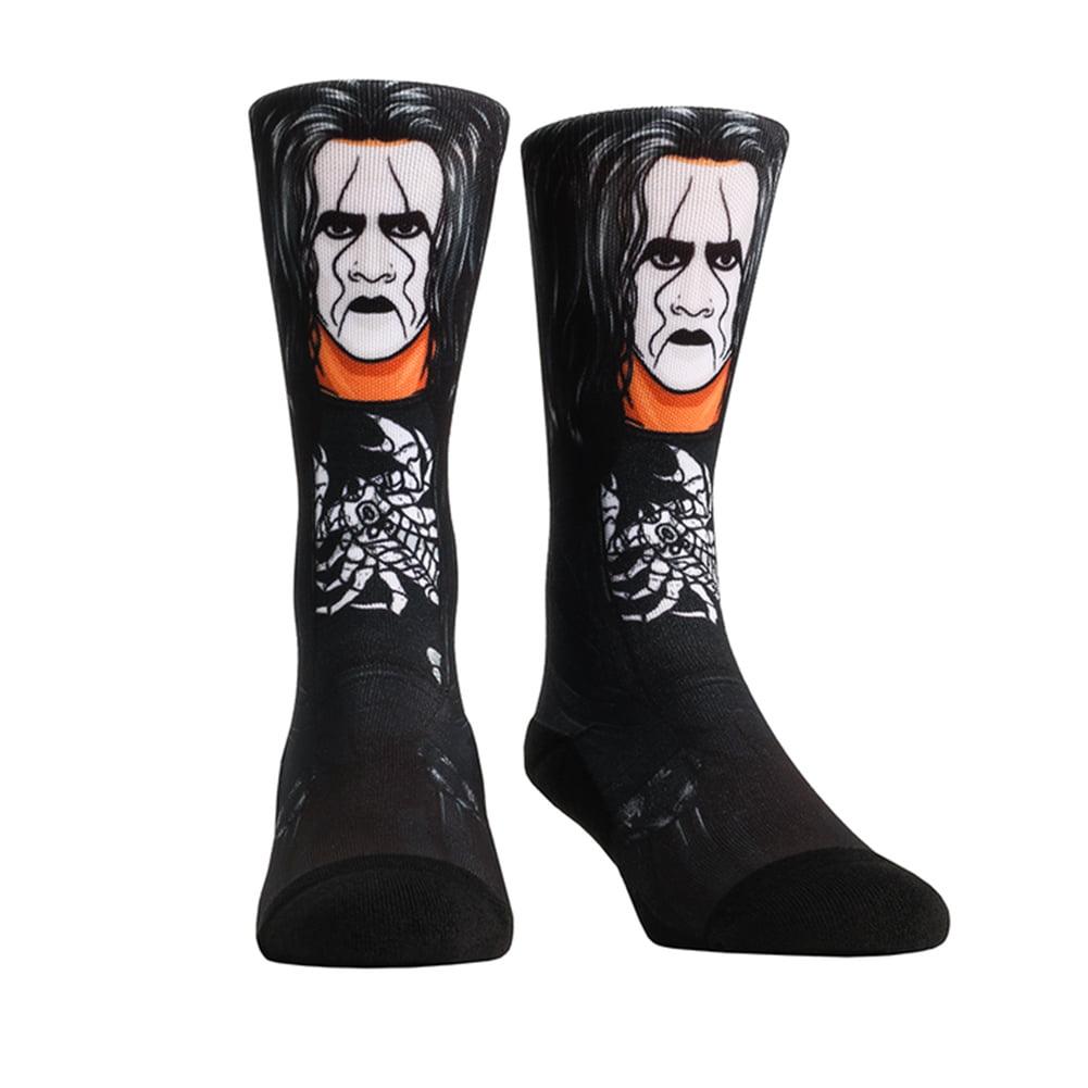 Official WWE Authentic Sting Rock 'Em Socks Multi 10-13