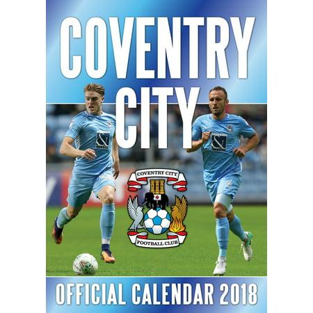 The Official Coventry City Football Club Calendar 2019 (Glow City Football)