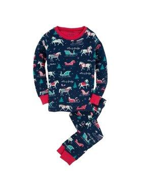 Sledding Horses Toddler Pajama Set