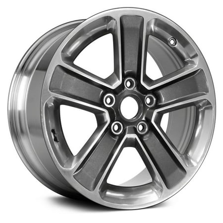PartSynergy Aluminum Alloy Wheel Rim 18 Inch OEM Take-Off Fits 2018 Jeep Wrangler 5-127mm 5 (35 Tires And Rims For Jeep Wrangler)
