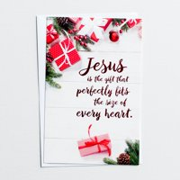 DaySpring  -  Jesus Is the Gift - 50 Christmas Boxed Cards, KJV