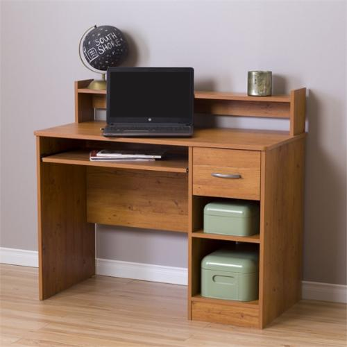 South Shore Smart Basics Small Desk, Country Pine