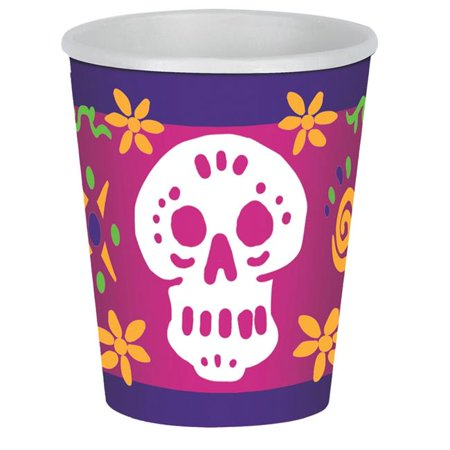 Day of The Dead Beverage Cups Costume - image 1 of 1
