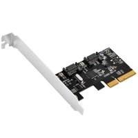 Silver Stone Technologies ECS03 2 Port SATA 6 Gbps Expansion Cards