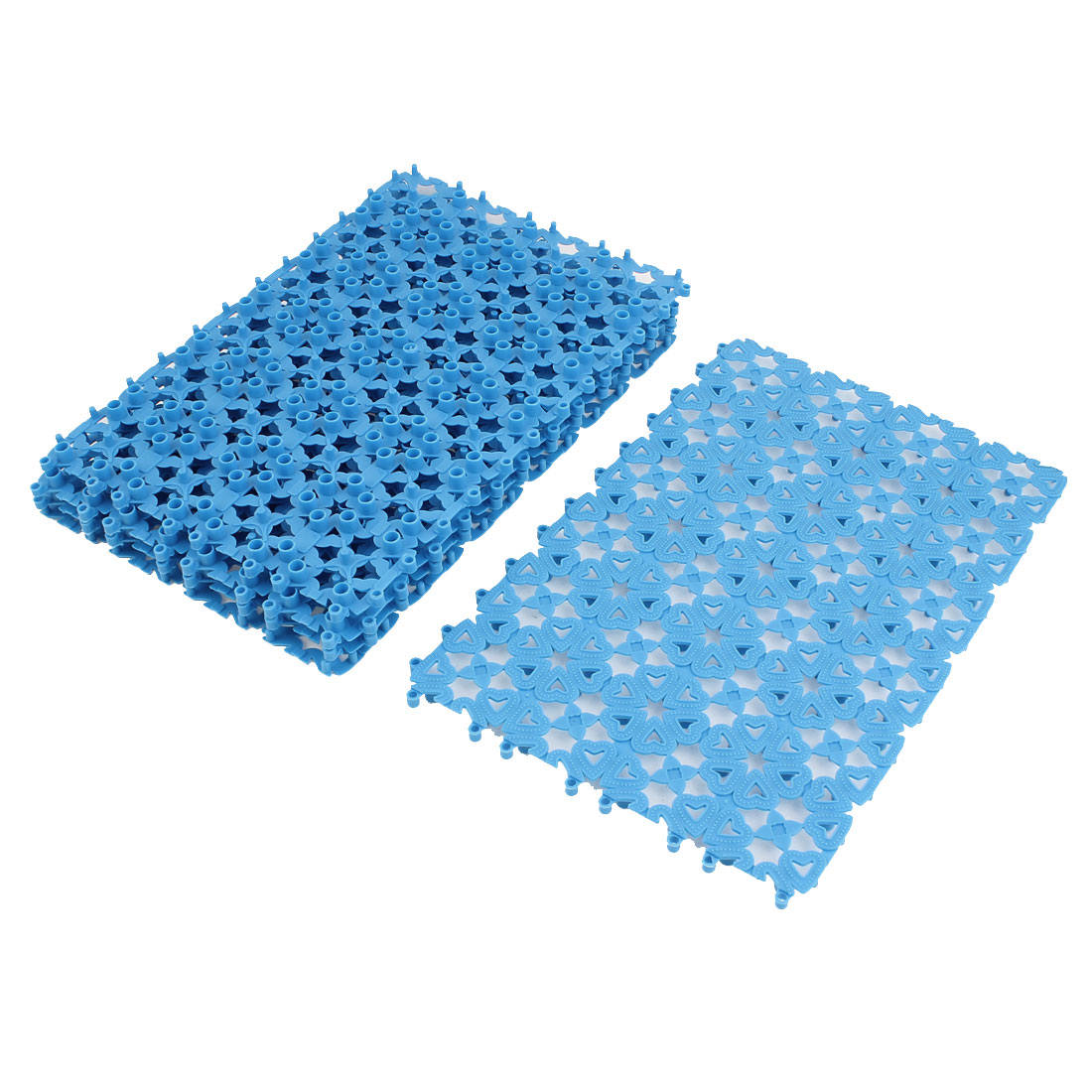 Plastic Free Split Joint Water Resistant Anti-slip Shower Bath Mat ...