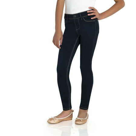 Jordache Girls' Pull On Denim Legging