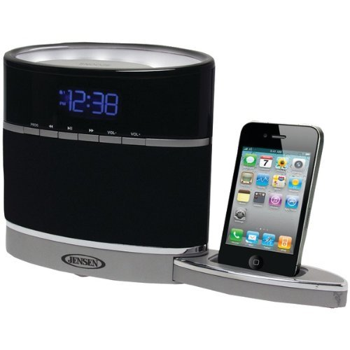 Jensen Docking Digital Music System for iPod and iPhone with Night Light