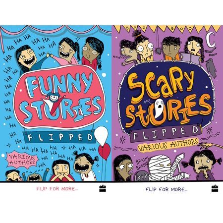Flipped: Funny Stories/Scary Stories - Funny And Scary Halloween Stories