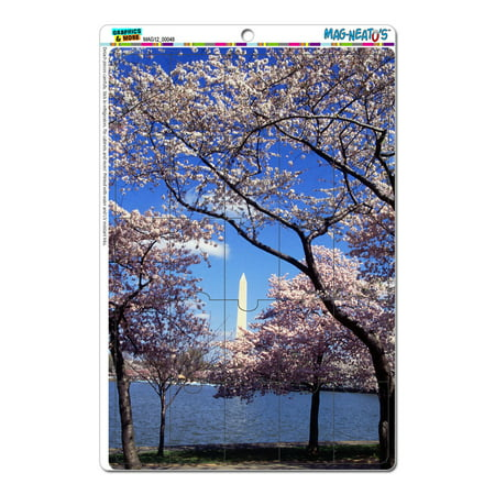 Cherry Blossoms In Washington Dc Mag Neatos Tm  Puzzle Magnet