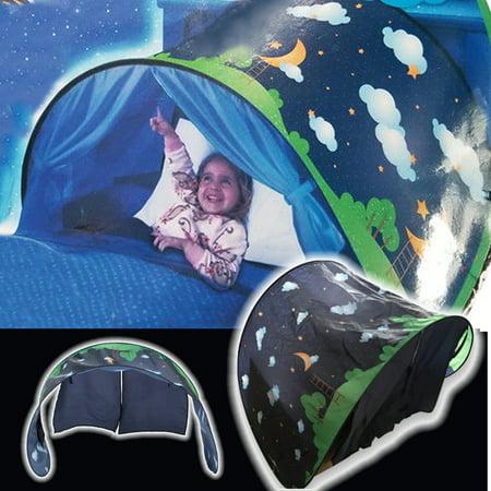 Dream Tent Space Adventure Kids P op Up Play Tent Playhouse Folding Bed (Adventure Playhouse)
