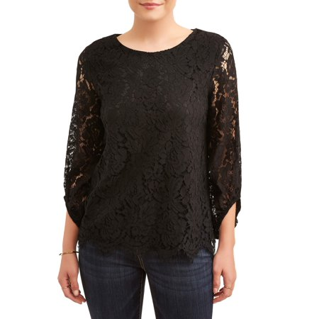 Women's All Over Lace Top
