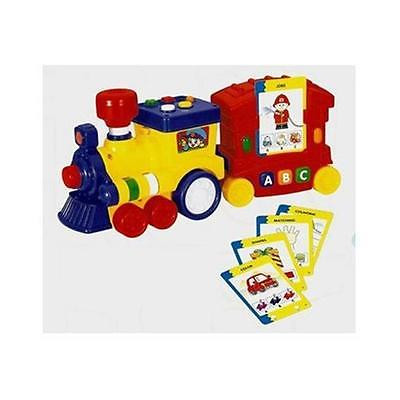 Kids Teens Megcos 1213 Plastic Interactive Musical Quizzer Train Learning Supplies Istilo126401 by GSS Kids Teens
