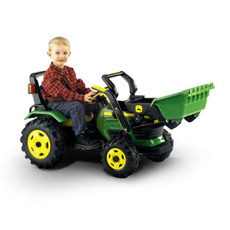 peg perego john deere loader ride on toy. Black Bedroom Furniture Sets. Home Design Ideas