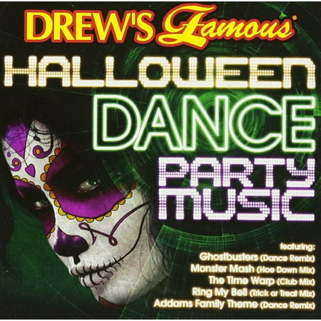 Halloween Dance Party Music (Various Artists) (CD) (Halloween Music Remix Kids)