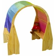 56 in. Solid Wood Playstand Arch (Natural)