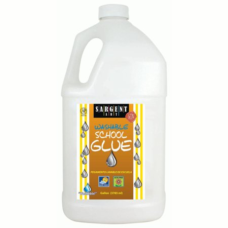Sargent Art® Washable School Glue, Gallon