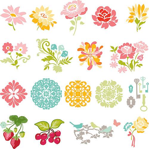 Slice Fabrique Design Card-Secret Garden By Sandi Henderson