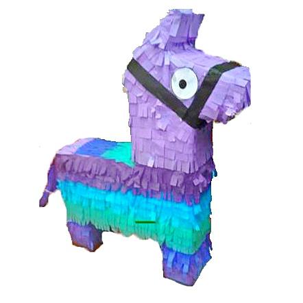 Surprise Llama Pinata, Purple, 19.5in x 16in