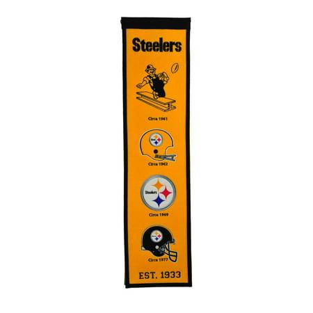 Winning Streak - NFL Fan Favorite Banner, Pittsburgher - Steelers Decor