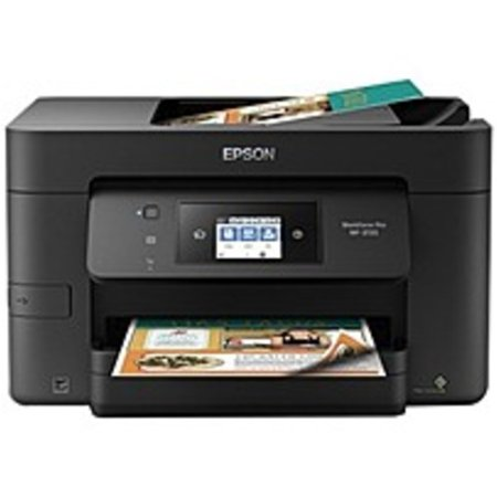Epson WorkForce Pro WF-3720 Inkjet Multifunction Printer - Color - Copier/Fax/Printer/Scanner - 4800 x 2400 dpi Print - Automatic Duplex Print - 1200 dpi Optical Scan - 250 sheets Input (Epson Printers Pro)