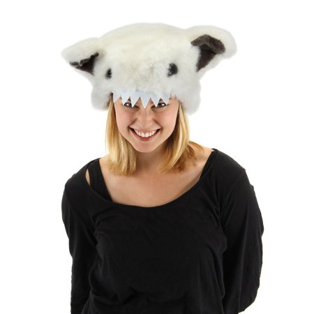 Abominable Snowman Yeti Costume Hat (Abominable Snowman Adult Costume)
