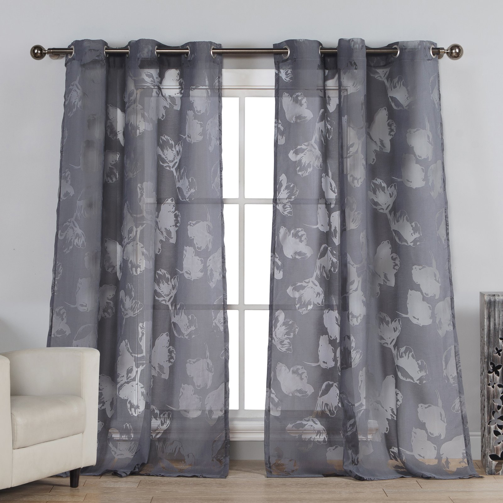 Duck River Aster Grommet Curtain Panel Pair - ASTER 5090
