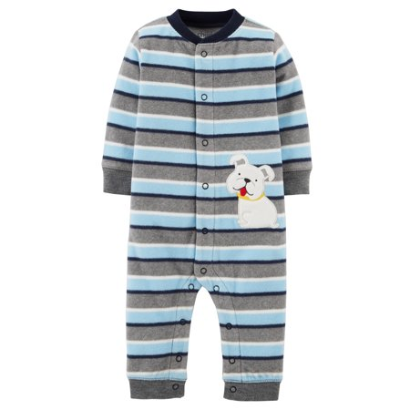 Child of Mine by Carter's Newborn Baby Boy One Piece Jumpsuit - Blue Jumpsuit