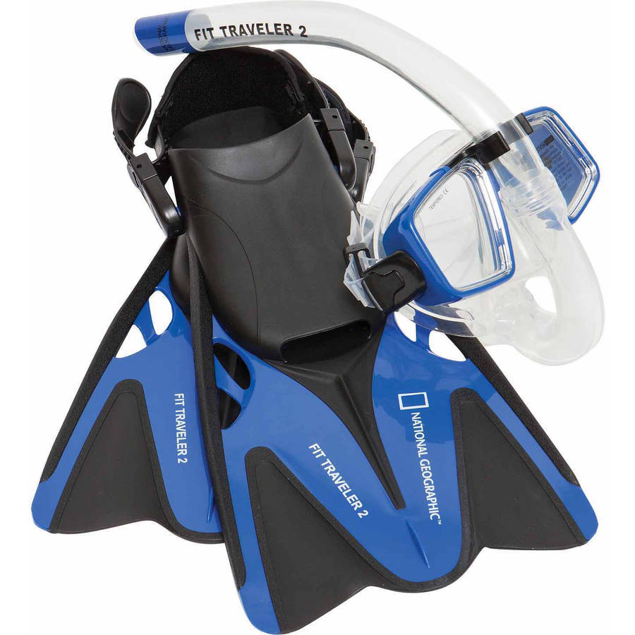 National Geographic Snorkeler Fit Traveler2 Combo