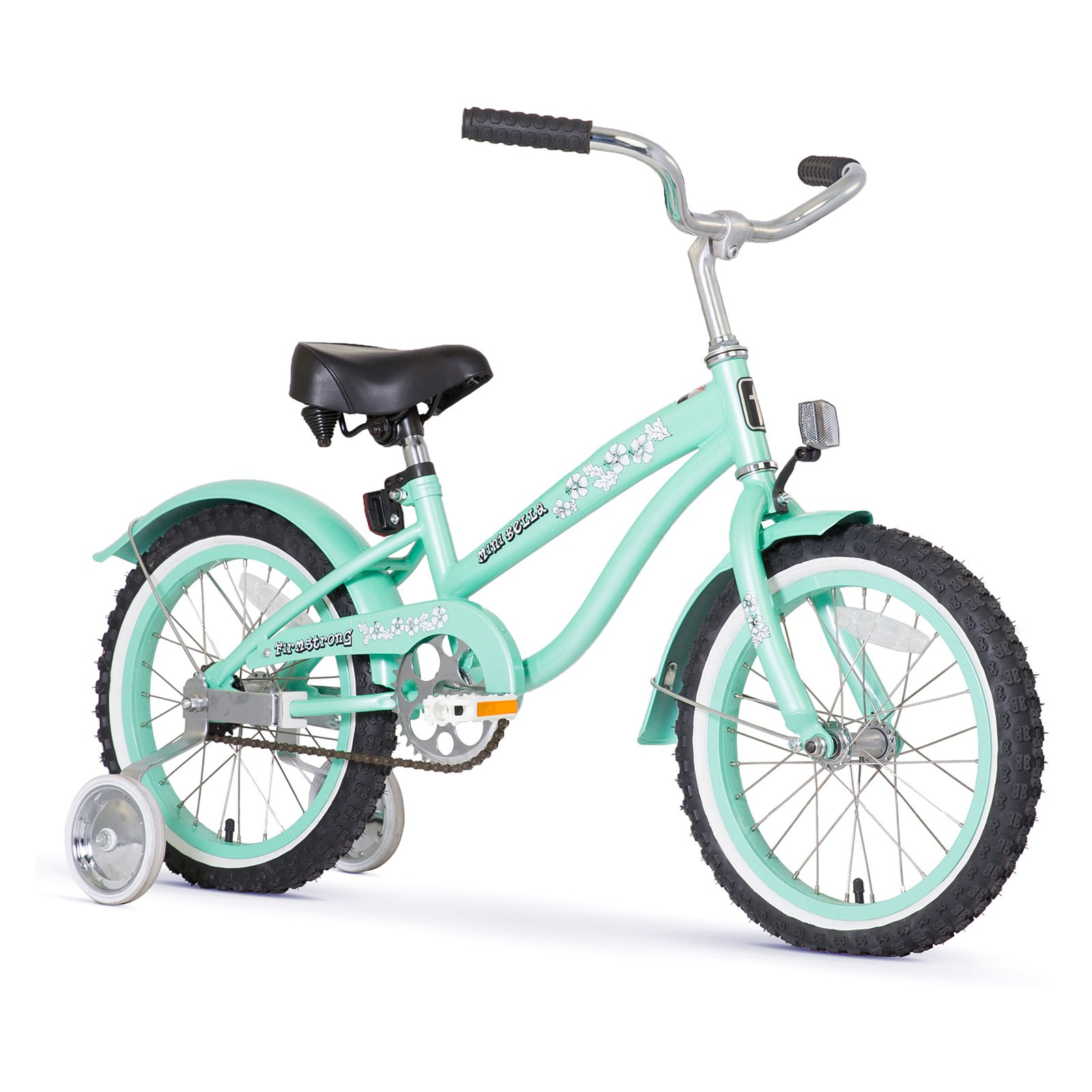 Firmstrong Bella Girls 16 in. Single Speed Bicycle with Training Wheels
