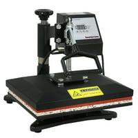 "ZENSTYLE 12"" x 10"" Heat Press Swing Away 360-degree Rotation Digital Heat Transfer Sublimation Printing Machine"