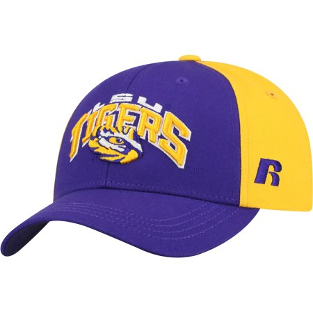 Youth Russell Purple/Gold LSU Tigers Tastic Adjustable Hat - OSFA