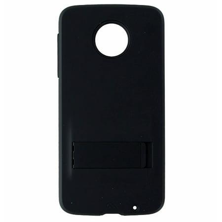 Case-Mate Tough Stand Case Cover and Kickstand for Motorola Moto Z Droid - Black - image 2 de 2